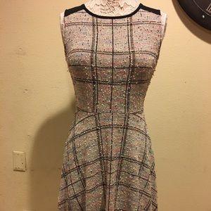ModCloth Tweed Dress, Size Small
